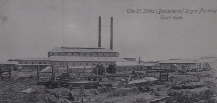 New sugar factory, 1912