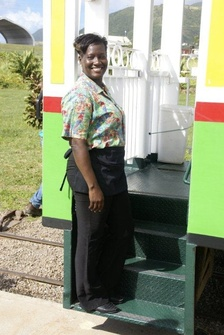 St. Kitts Scenic Railway Host